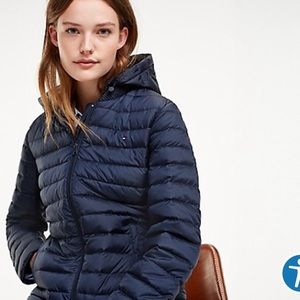 Tommy Hilfiger packable jacket without hood